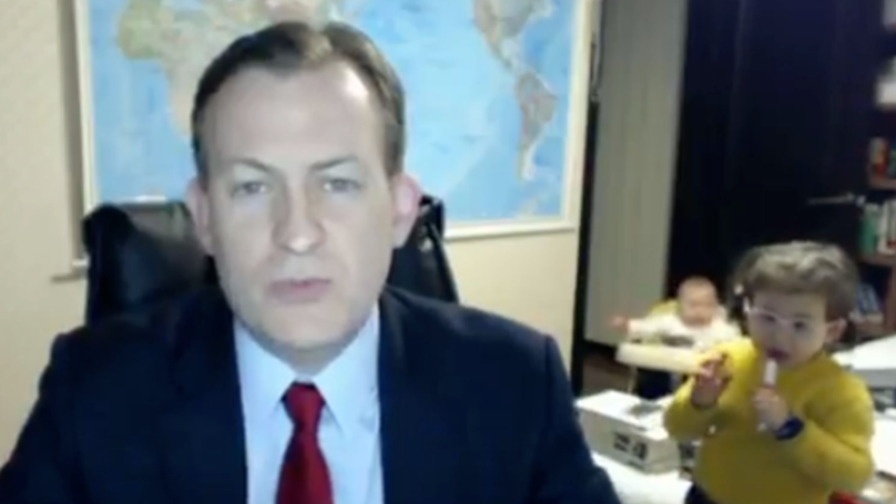 It's Been One Year Since Robert Kelly's Kids Crashed His BBC Interview