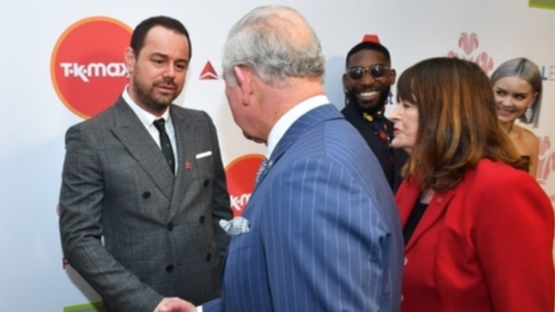 Danny Dyer Boasts To Price Charles About His Royal Connections