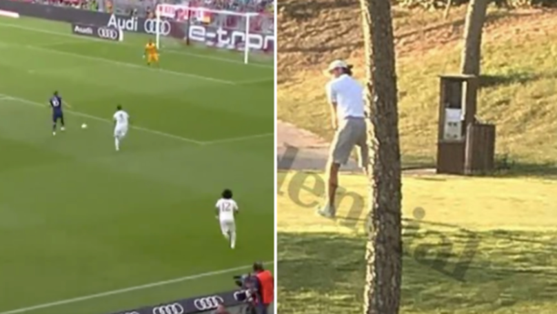 Gareth Bale Spotted Playing Golf At The Same Time As Spurs Beat Real Madrid