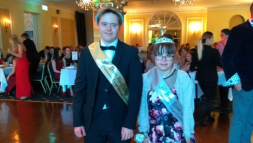 ​Couple With Down Syndrome Crowned Prom King And Queen By Classmates