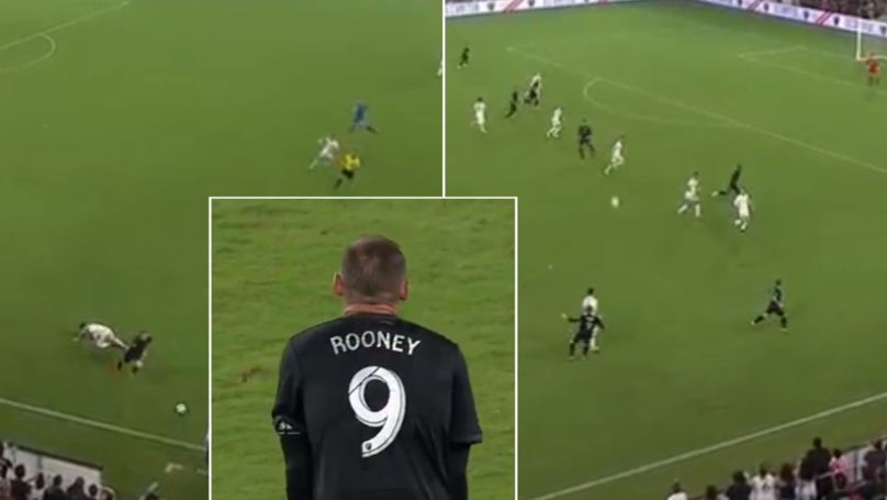 Wayne Rooney Makes Game-Saving Tackle In 95th Minute And Produces Incredible Assist