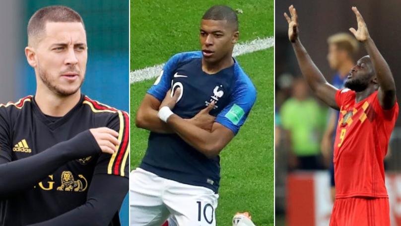 France And Belgium World Cup Combined XI Is Pure Fire Emoji