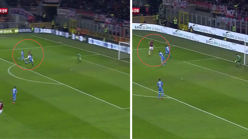 Krzysztof Piatek Scores Brilliant Goal On AC Milan Full Debut