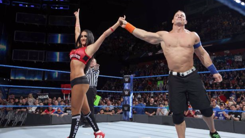 John Cena And Nikki Bella Won't Be Making Any Baby Wrestlers