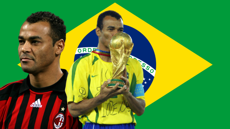 Brazil Legend Cafu Has Been Voted The Best Right-Back Of All Time