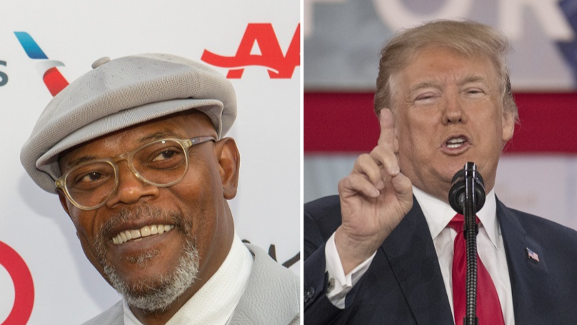 Samuel L Jackson Goes In On Trump's Proposal To Arm American Teachers