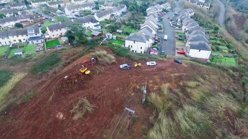 Property Developer 'Cuts Down Huge Wood Before Applying For Permission To Build There'