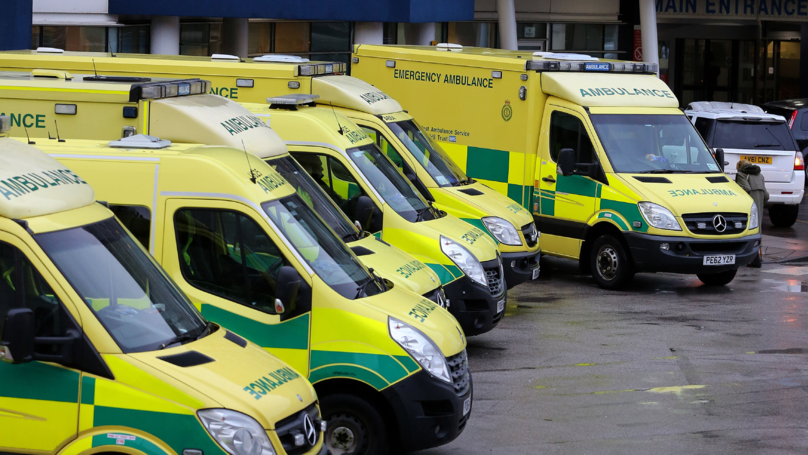 Teens 'Kick And Punch' Ambulance While Crew Treat Patient Inside