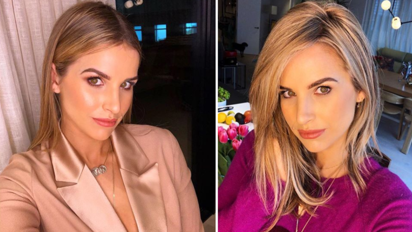 Vogue Williams Just Let Slip The Sex Of Her Unborn Baby On TV
