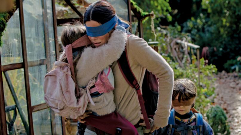 Sandra Bullock 'Ran Into The Camera' While Filming 'Bird Box'