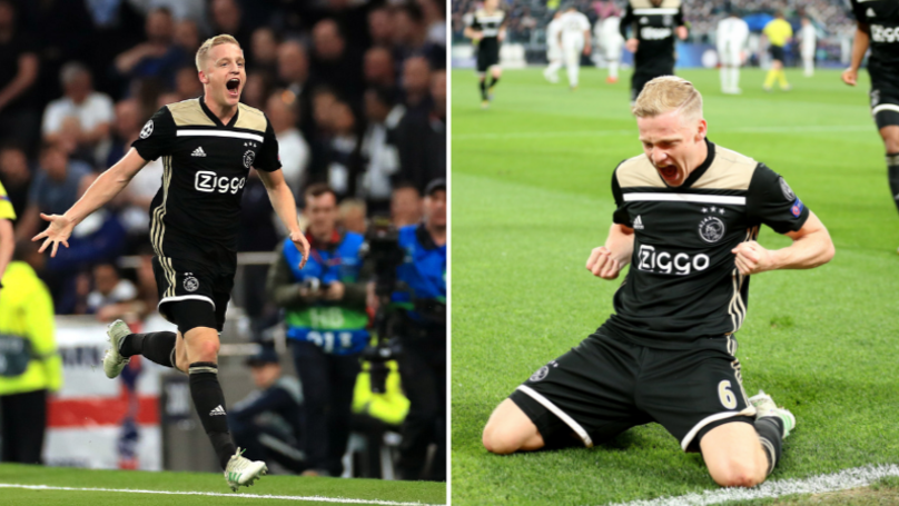 Donny Van De Beek Wants Move To Manchester United Or Spurs