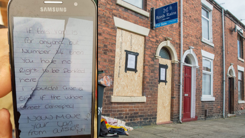 Woman Who Left Abusive Note For Paramedics Not Allowed To Return Home