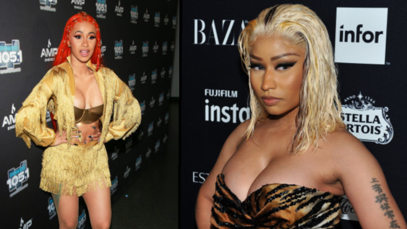 Cardi B Fires Into Nicki Minaji Saying: 'You Lie So Much'