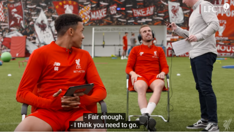 When Jordan Henderson Informed Liverpool Cameraman That His Wife Had Gone Into Labour
