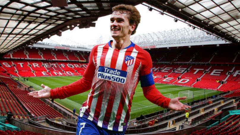 Manchester United 'To Make Last Ditch £95 Million Bid' For Antoine Griezmann