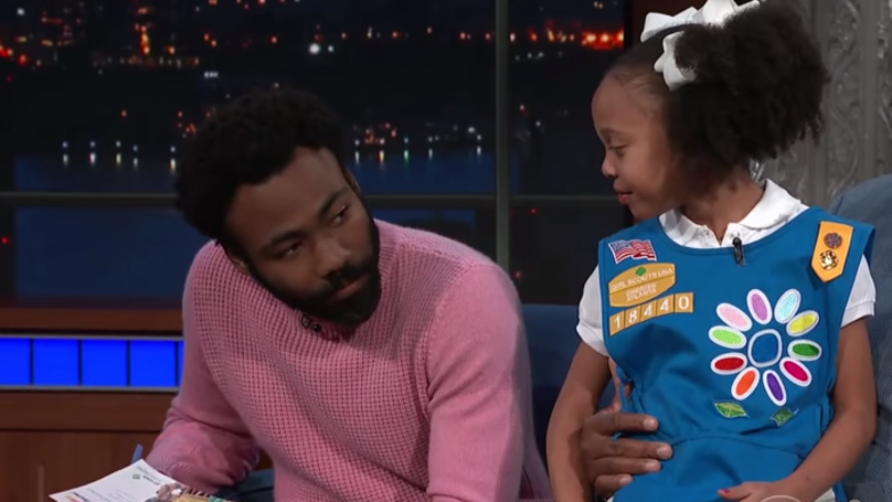 Childish Gambino Buys 113 Cookie Boxes Off Girl Scout Who Remixed 'Redbone'