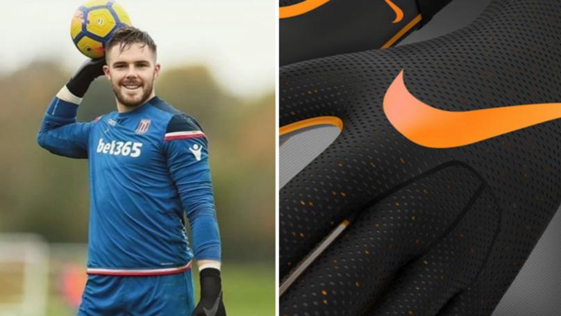 42ca4d971 Nike Release Revolutionary Strapless Nike Mercurial Touch Goalie Gloves