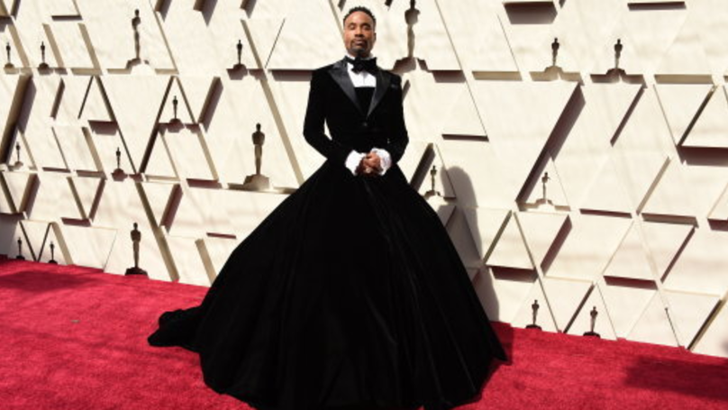 Oscars 2019: Billy Porter Wins The Red Carpet In Stunning Tuxedo Dress