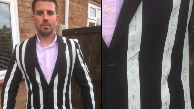 Man Recreates Conor McGregor's 'F*ck You' Suit And Plans To Wear It To Wedding Anniversary