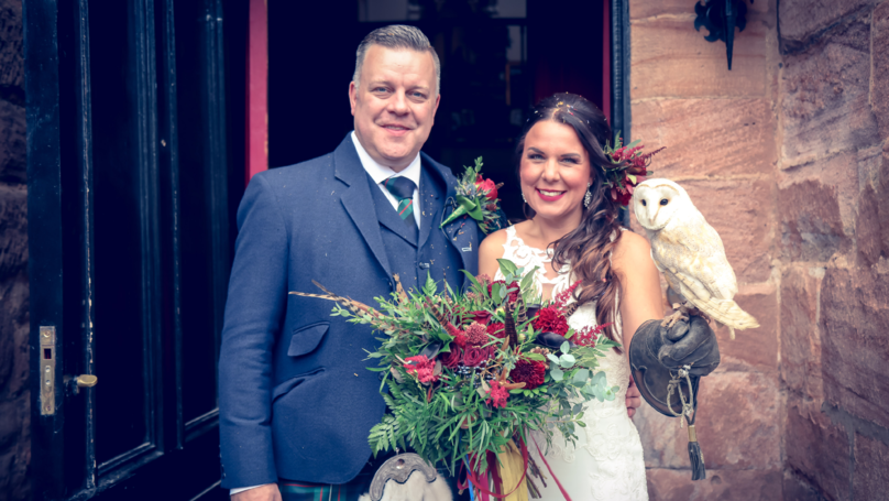 Couple Get Married In Magical Harry Potter Themed Wedding