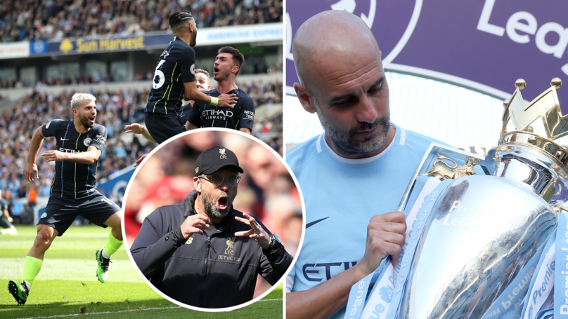 Manchester City Have Beaten Liverpool To The Premier League Title