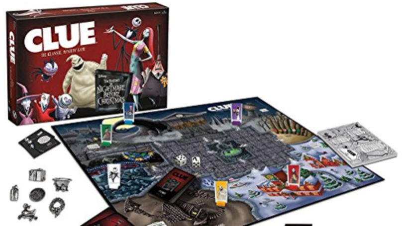 There's A 'Nightmare Before Christmas' Version Of Cluedo For This Year's Festivities
