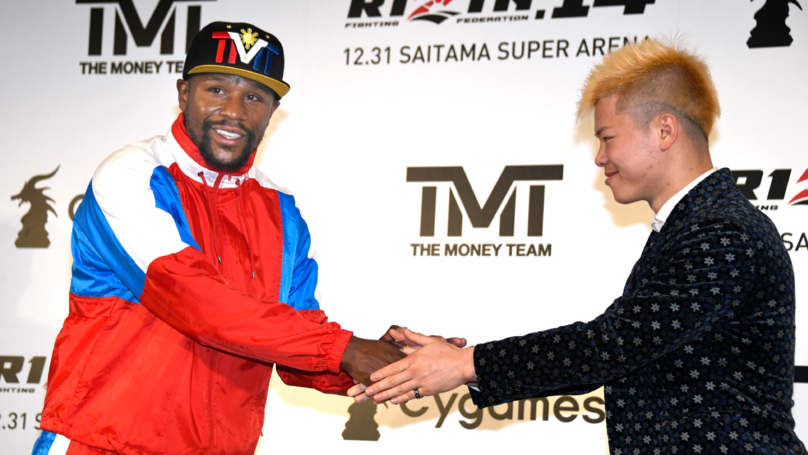 Floyd Mayweather To Take On Japanese Kickboxing Champion On New Year's Eve