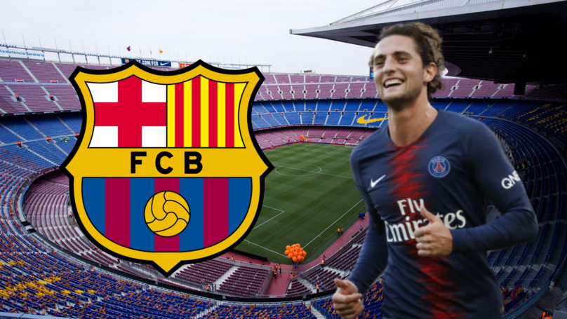 Adrien Rabiot Has Reached An Agreement To Sign For Barcelona On A Five-Year Contract