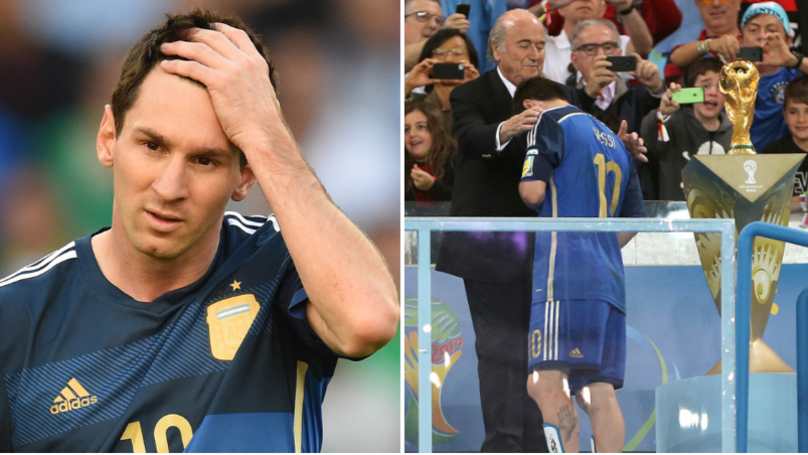 Lionel Messi Kept Saying 'The Best But Not The Champion' After World Cup Final Loss