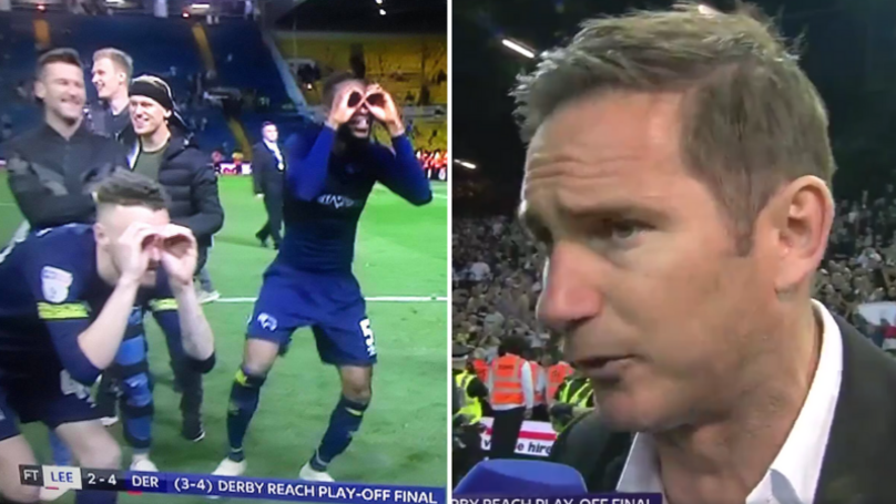Derby County Players Remind Leeds United Of Spygate With Brilliant Celebration