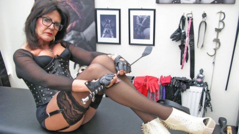 OAP Dominatrix Forces Men To Dress As Maids And Tidy Her House