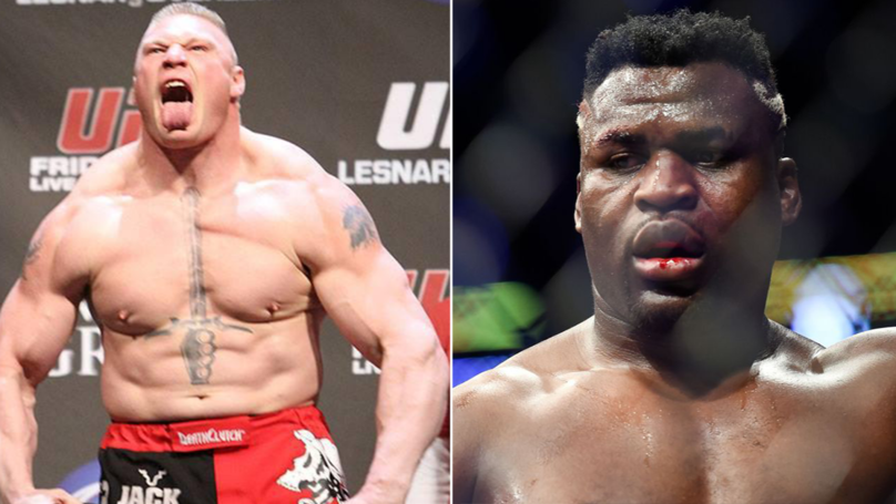 Francis Ngannou Wants To Fight Brock Lesnar In The Biggest MMA Fight Of The Year