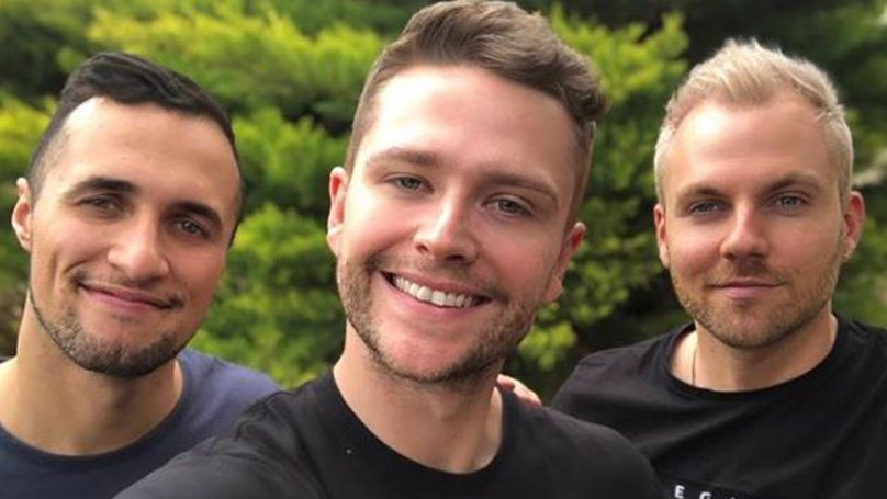 Couple Become Polyamorous 'Throuple' With Another Man After Threesome