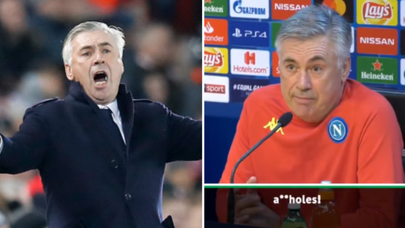 "Carlo Ancelotti: ""If We Don't Qualify, We Are A**holes"""