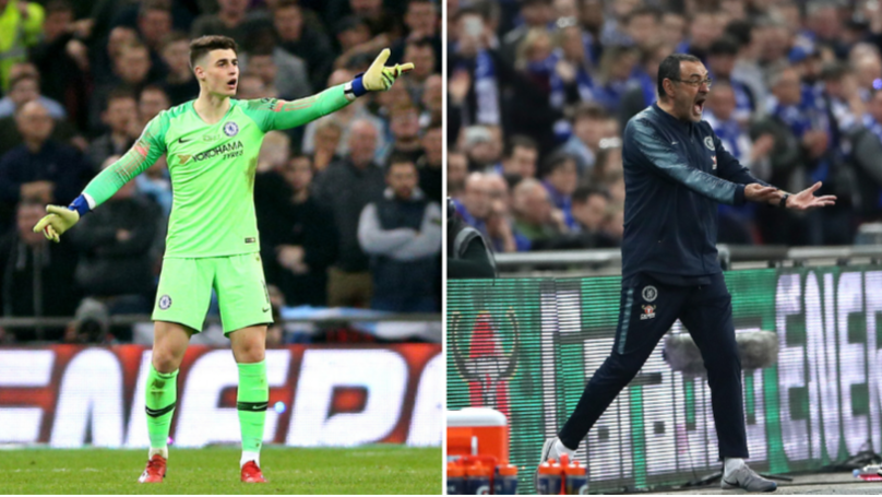 Chelsea Have Fined Kepa Arrizabalaga For His Refusal To Come Off In Carabao Cup Final