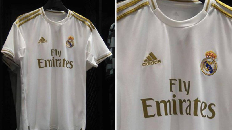 Real Madrid's Home Kit For The 2019-20 Season Has Leaked Online