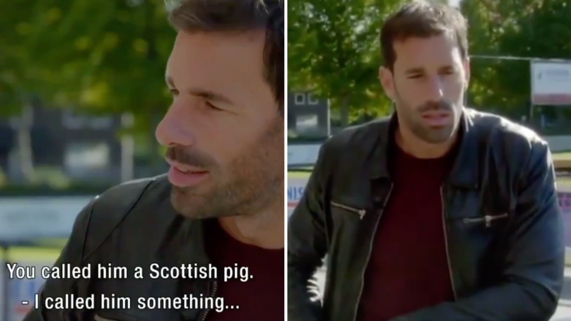 Ruud Van Nistelrooy Asked If He Called Sir Alex Ferguson A 'Scottish Pig'
