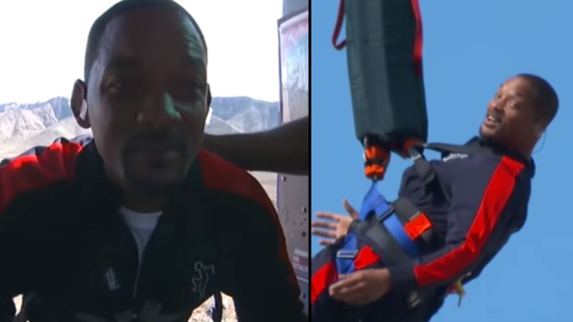 Will Smith Bungee Jumps From Helicopter Over Grand Canyon To Celebrate 50th Birthday