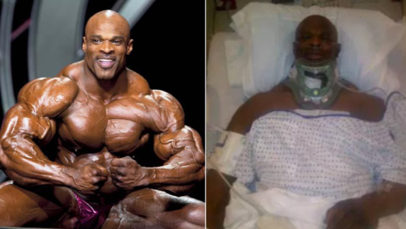 Bodybuilding Legend Ronnie Coleman Might Never Walk Again