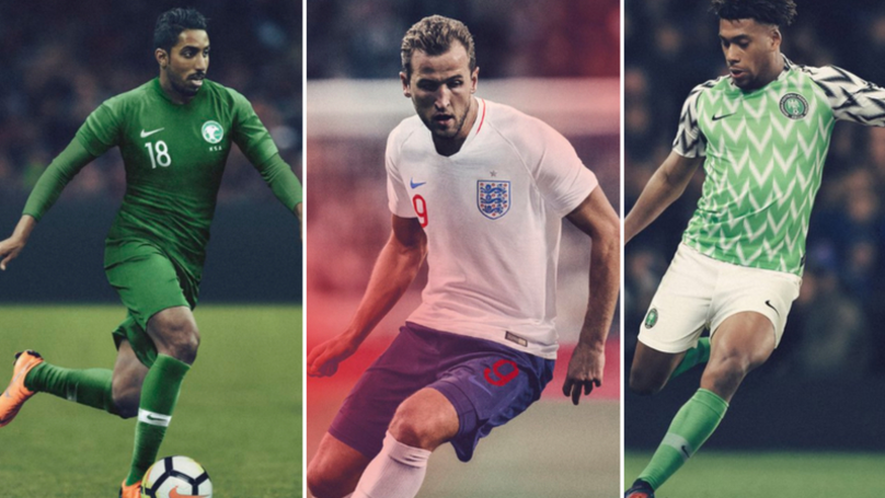 Top Ten Kits Of The World Cup 2018 - SPORTbible 5c142223b