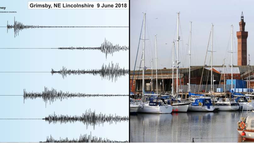 Earthquake Hits The North Of England