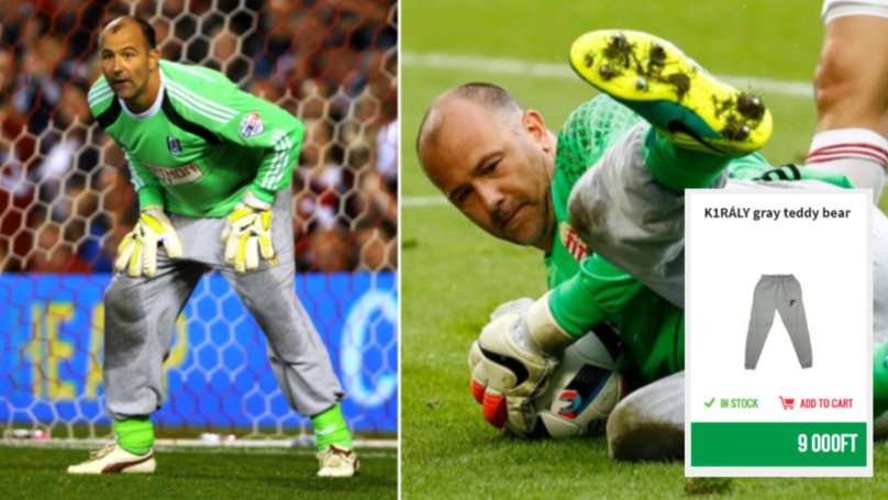 You Can Buy Gabor Kiraly's Famous Tracksuit Bottoms Online