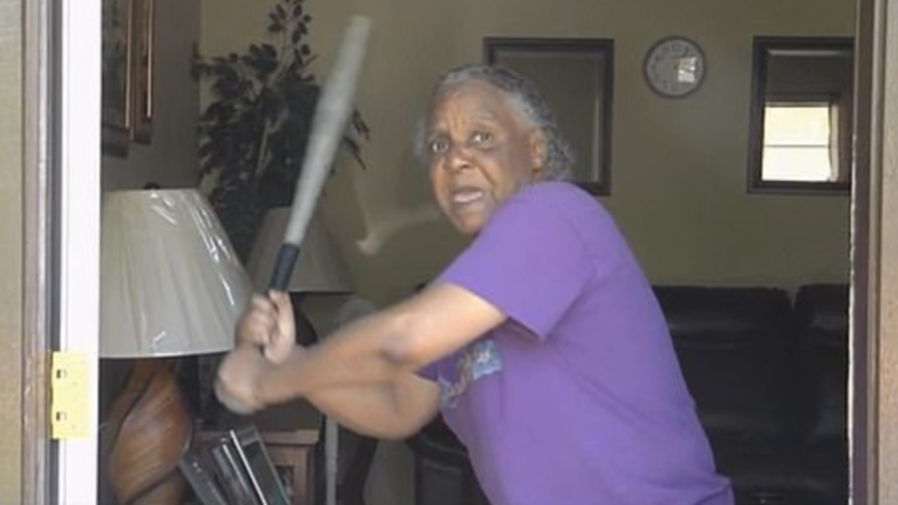Grandma Fends Off Half-Naked 300lb Carjacker With Baseball Bat