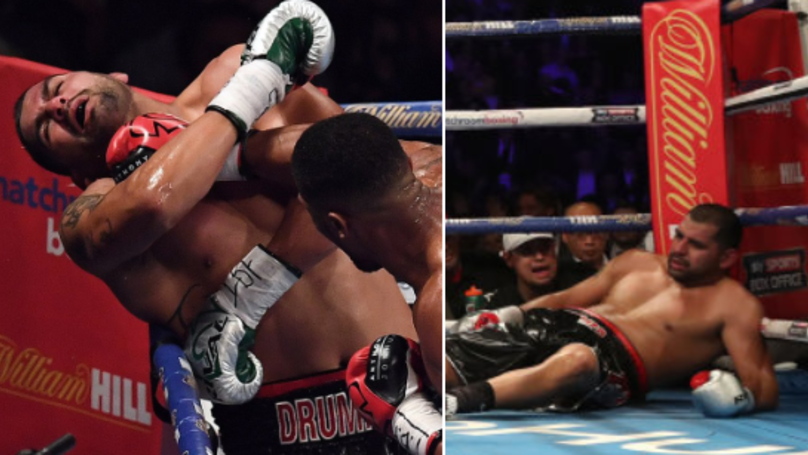 Eric Molina Fails Drug Test A Day After Anthony Joshua Fight, Still Got Battered