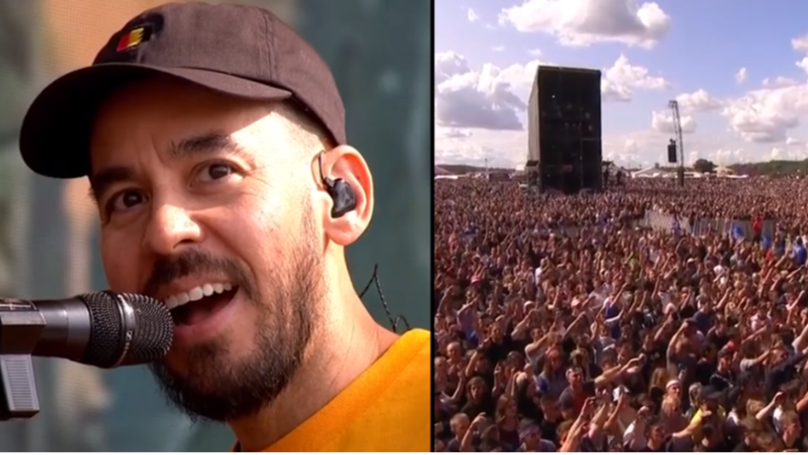 Mike Shinoda Performs Emotional Tribute To Chester Bennington At Reading Festival