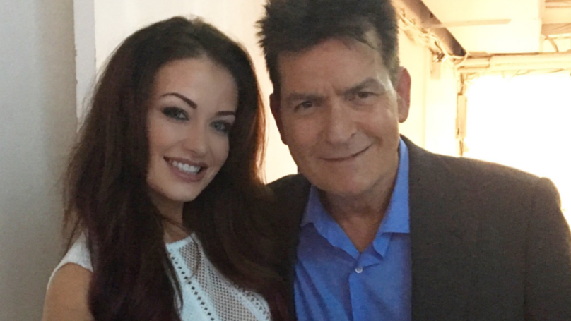 Charlie Sheen's British Girlfriend Opens Up About Their Relationship