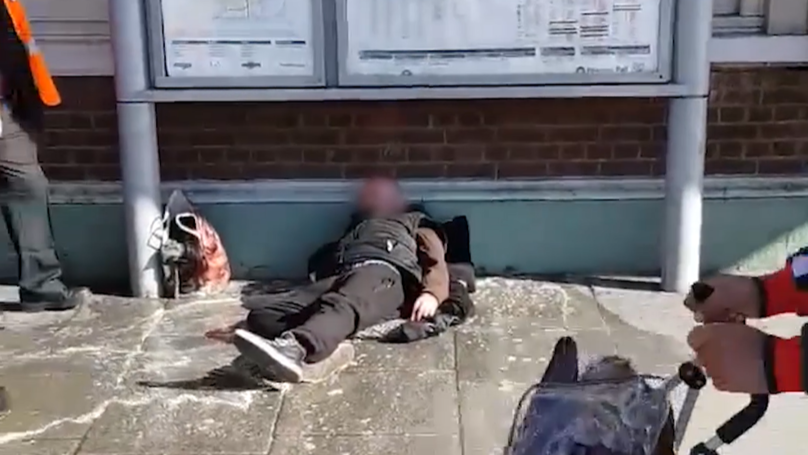 ​Southern Railway Staff Suspended After 'Pouring Dirty Water On Homeless Man'