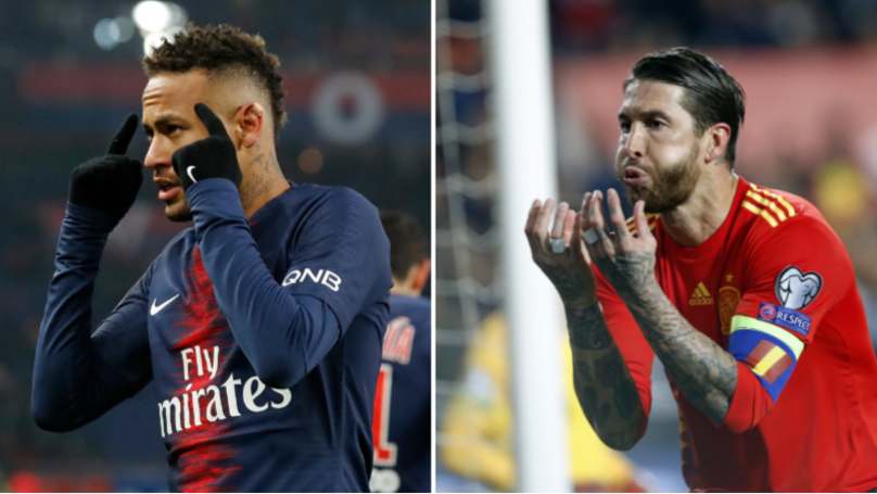 Neymar Picks Sergio Ramos As The Best Player He's Played Against