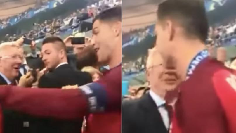 When Sir Alex Ferguson Waited For Cristiano Ronaldo After Portugal Won The Euros
