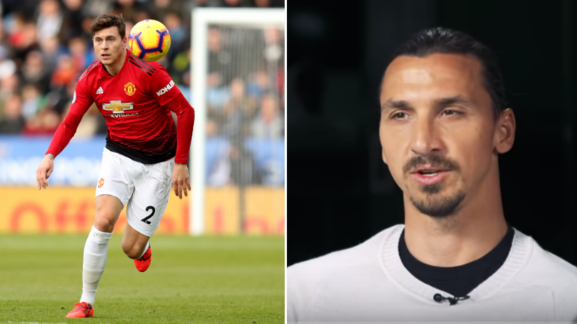 Zlatan Ibrahimovic Reveals The Advice He Gave To Manchester United's Victor Lindelof